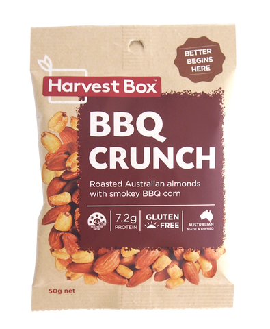 Harvest Box - BBQ Crunch 10x50g