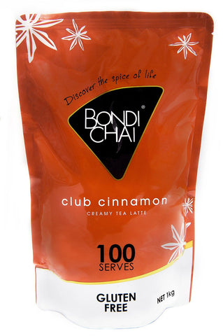 Bondi Chai Soft Pack 1kg - Club Cinnamon