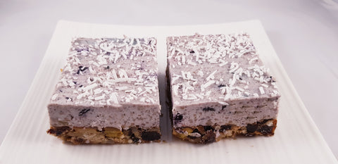 Desserts Bay - Paleo Blueberry Slice (Vegan, GF, DF, SF) x 15