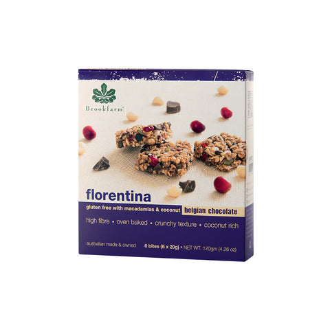Brookfarm Bar Multi Pack - Gluten Free Florentina Bar x 36