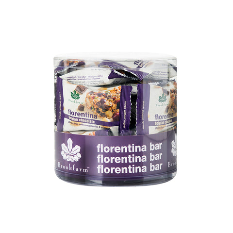 Brookfarm Bar - Gluten Free Florentina Bar 20g x 48 (SHORT EXIPRY - 10th March 2021)