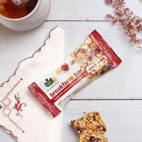 Brookfarm Bar Multi Pack - Toasted Macadamia & Cranberry Bar x 24