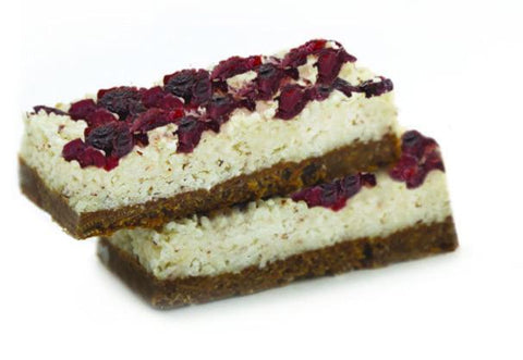 15 x Pantry & Larder Vegan Berry Coconut Fusion ( Gluten & Dairy Free) Cafe Slices Pantry & Larder
