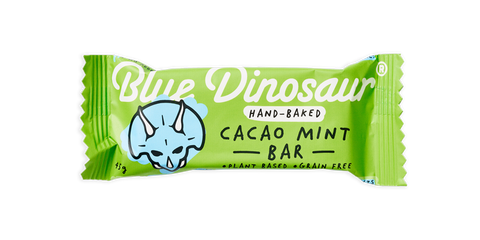 Blue Dinosaur - Paleo Cacao Mint Bar 45g x 12