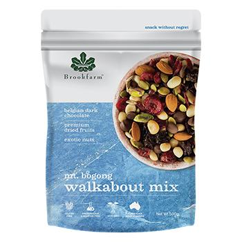 6 x Brookfarm Walkabout Mix 500g - Mt Bogong Mix Muesli/Bars Brookfarm