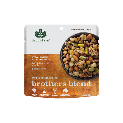 Brookfarm - Brothers Blend Entertainer Mix 35g x 36