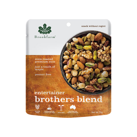 Brookfarm - Brothers Blend Entertainer Mix 75g x 12