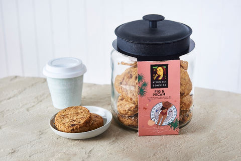 Byron Bay Cookie Company - Cafe Style Fig & Pecan Cookie x 12