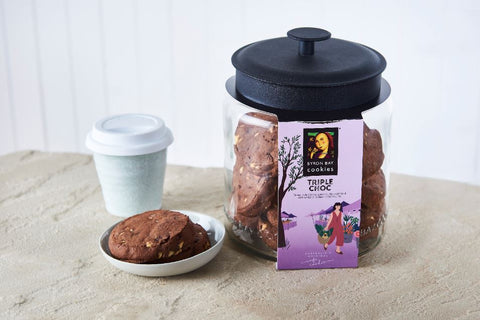 Byron Bay Cookie Company - Cafe Style Triple Choc Fudge Cookie x 12