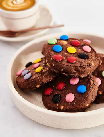 Byron Bay Cookie Company - Cafe Style Triple Choc Dotty Cookie x 12