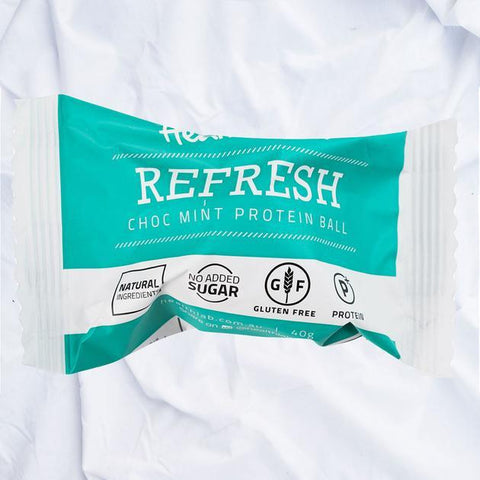 Refresh - Choc Mint Protein Balls Individually Wrapped 12x40g