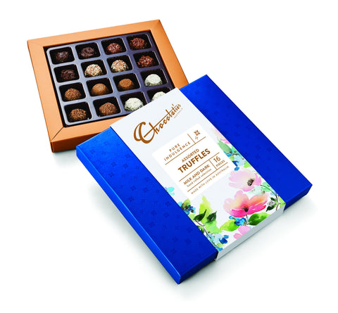 6 x Pure Indulgence Milk & Dark Assorted Truffles 150g Chocolates Chocolatier Australia