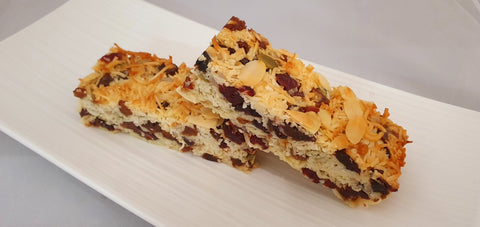 Desserts Bay - Cranberry Healthy Slice GF
