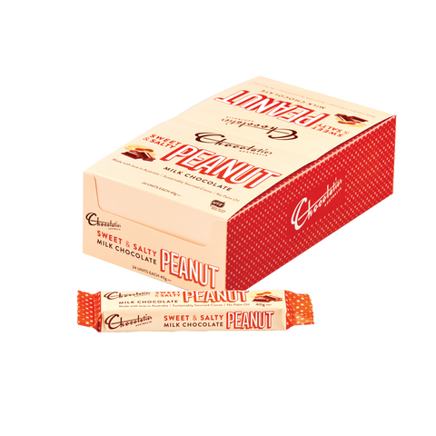 Chocolatier - Pure Indulgence Sweet & Salty Peanut Bar 40g x 24
