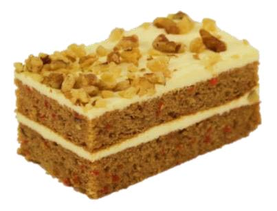 Rica Pastries - Carrot Cake Slice x 6