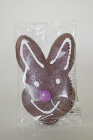 100 x Gingerbread Easter Bunny 50gm