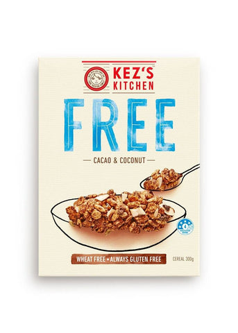 6 x  Kez's Cereal  - Cacao & Coconut Gluten Free
