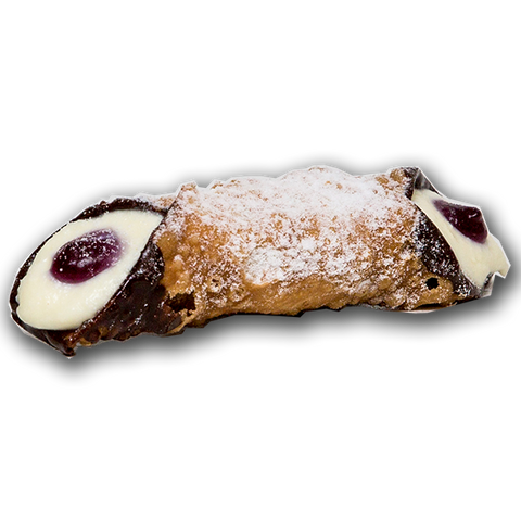 Dolceroma - Large Blueberry Ricotta Cannoli 110g x 6