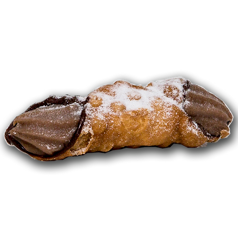 Dolceroma - Small Chocolate Cannoli 60g x 8