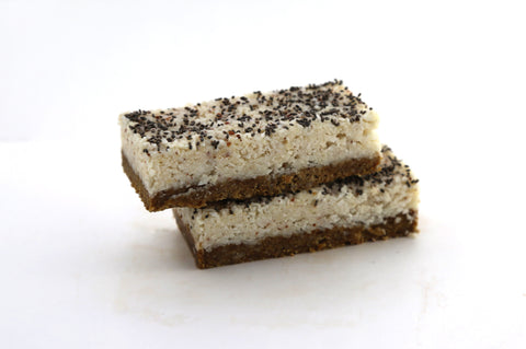 15 x Pantry & Larder Vegan Lemon Coconut Fusion ( Gluten & Dairy Free) Cafe Slices Pantry & Larder
