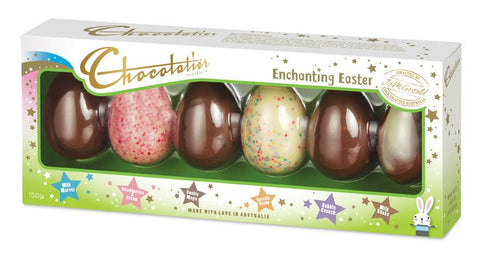 "16 x Chocolatier 6 Pack Chocolate Egg Selection ""Kids Classics"""