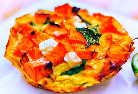 Posh Foods - Pumpkin & Feta Frittata (Cocktail Size)