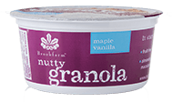 12 x Brookfarm Nutty Granola Tub : Maple & Vanilla 45g