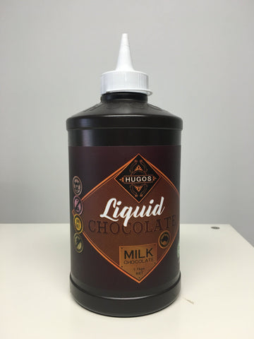 Hugo's Liquid Chocolate 1.1kg - Milk