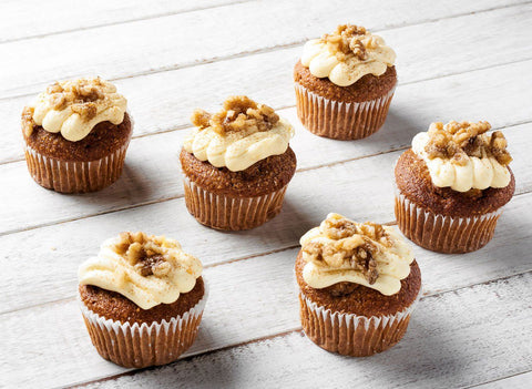 6 x Looma's Cake ( Individual ) - Carrot Cakes Tarts, Cake Slices, Friands Loomas