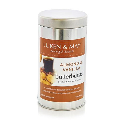 12 x Luken & May Almond Vanilla Butterburst Tin