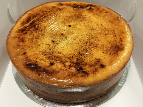 Looma's Cake - Caramelised White Chocolate Cheesecake