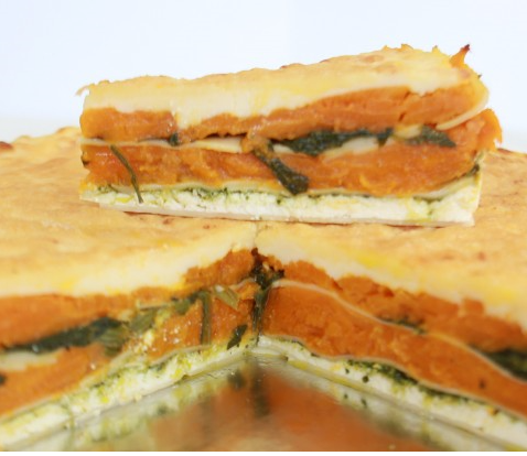 Posh Foods - Pumpkin Pesto Lasagne