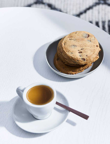 Byron Bay Cookie Company - Cafe Style Milk Choc Chunk Cookie (Nut Free) x 12