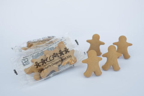 100 x Christen's Gingerbread Mini Men 4 Pack