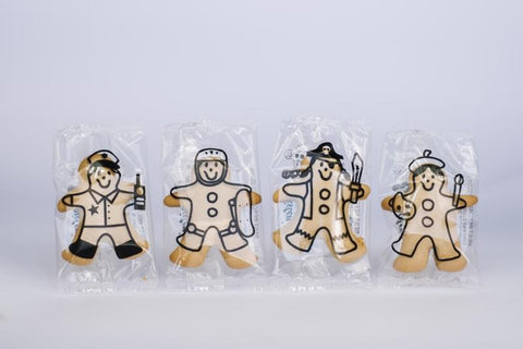 80 x Christen's Gingerbread Mini Men Gingerbread Christens Gingerbread