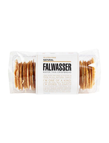 Falwasser - Gluten Free Wafer Thin Natural Crispbread 120g x 12