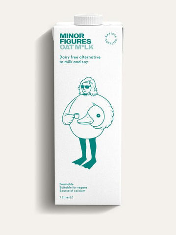 Minor Figures - Oat Milk 6 x 1L Oat Milk Minor Figures