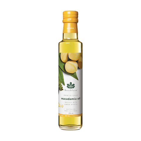 Brookfarm - Lemon Myrtle Infused Macadamia Oil  250ml x 6