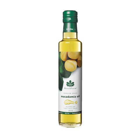 Brookfarm -Premium Grade Natural Macadamia Oil 250ml x 6