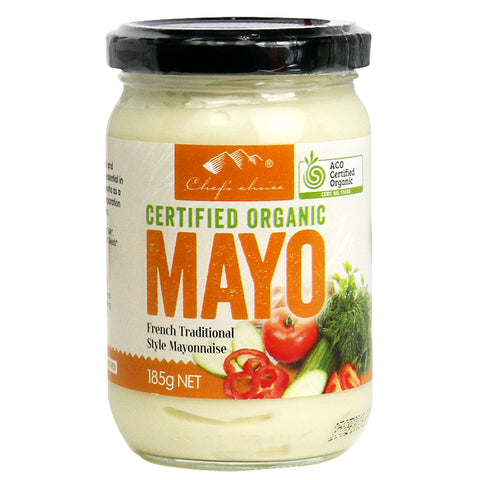 HBC Trading - Organic Mayonnaise French Traditional Style 185g x 6