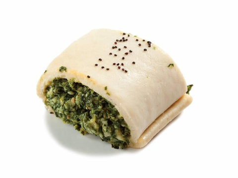 54 x Silly Yaks Party Spinach Roll Gluten Free Frozen Savouries Silly Yaks