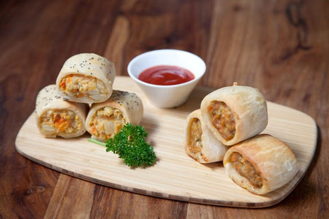 54 x Silly Yaks Party Sausage Roll Gluten Free