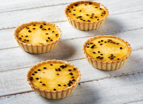 4 x Looma's Tart (10cm) - Passionfruit