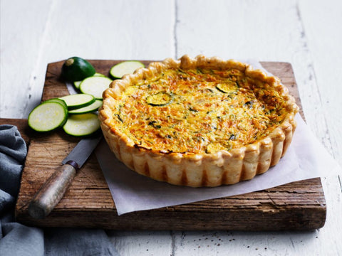 Posh Foods - Mixed Veg Quiche 8""