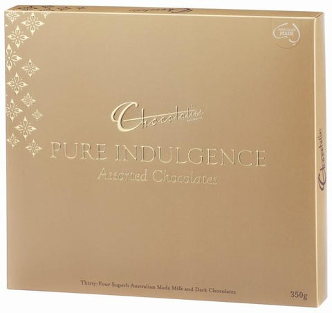 Chocolatier Gift Boxes - Pure Indulgence Chocolate Assortment (Gold) 350g x 6