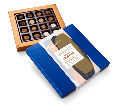 "6 x Chocolatier Pure Indulgence ""Assorted Truffles"" Milk Dark White 150g Chocolates Chocolatier Australia"