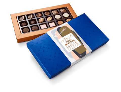 "6 x Chocolatier Pure Indulgence ""Mixed Selection"" Milk Dark Chocolates 190g Chocolates Chocolatier Australia"
