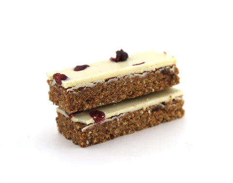 15 x Pantry & Larder Raw Cranberry & Coconut (Gluten Free) Cafe Slices Pantry & Larder
