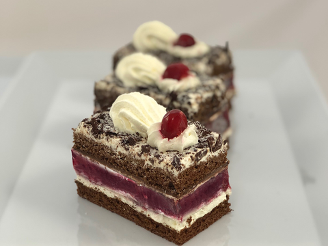 Rica Pastries - Black Forest Slice x6
