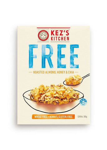 6 x Kez's Cereal - Roasted Almond, Honey & Chai Gluten Free